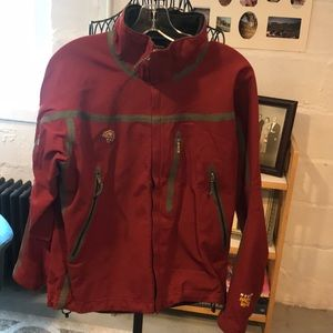 Mens Mountain hardware fleece lined nylon jacket S